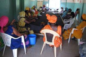 Les femmes de Thiès en suivi et évaluation - Mboro, 25 septembre 2013
